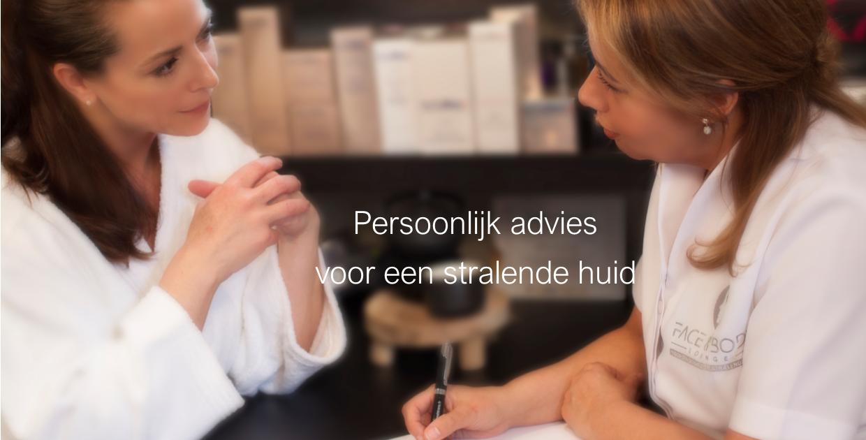 persoonlijk huid advies - Face & Body lounge
